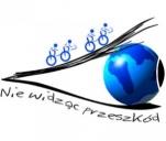 Nie widząc przeszkód... jeżdżę na rowerze