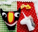 Zabawki z rysunków dzieci z Domu Dziecka