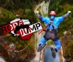 Ekstremalny skok na linach z 240 metrów w Chorwacji