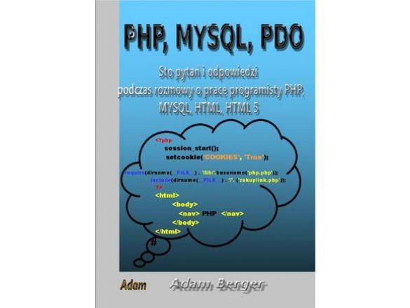 {Książka programowanie php, mysql, pdo, html