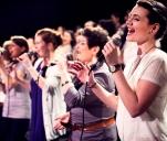 Tort na 15 urodziny Kraków Gospel Choir