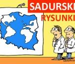 Książka - rysunki satyryczne Szczepana Sadurskiego