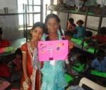 Bloki i kredki dla dzieci- wolontariat w Indiach