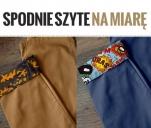 Spodnie szyte na miarę