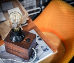 Lumi - nastrojowa lampka z drewna
