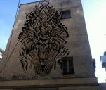 Mural Manú Menéndeza we Wrocławiu