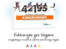 Karciano-planszowa gra biegowa KINGRUNNER