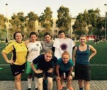 Wyjazd Kobiecej Akademii Piłkarskiej na turniej w Barlinku