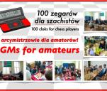 100 zegarów dla szachistów -arcymistrzowie dla amatorów