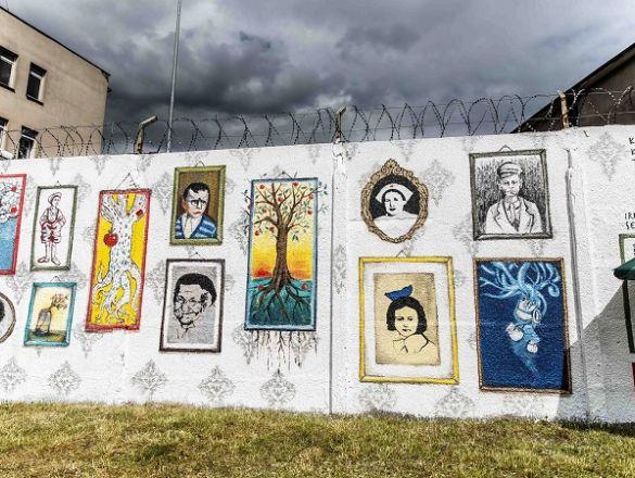 Kampania crowdfundingowa uratujmy mural for Mural bialystok dziewczynka z konewka