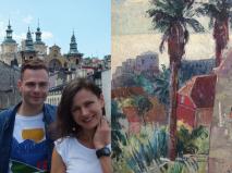 WIDOK Z DUBROWNIKA - pomóż Muzeum kupić obraz! crowdfunding