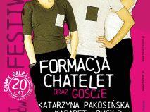 Festiwal XX - lecie Formacji Chatelet w Cieszynie