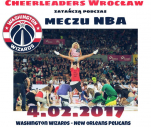 Polskie Cheerleaderki na meczu NBA