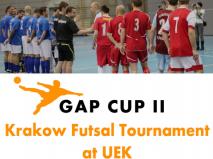 GAP CUP II - Turniej futsalu w Krakowie