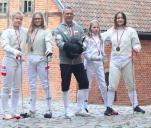 Szablistki - Mistrzynie Polski
