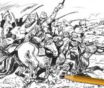 Projekt komiksu Za Polskę -  Rokitna 1915