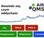 AirQMS - Dowiedz się, czym oddychasz