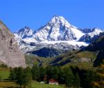 Próba wbiegu na najwyższy szczyt Austrii Grossglockner.
