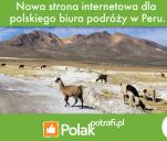 Strona internetowa dla polskiego biura podróży w Peru!