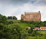 """700-letni Zamek Golubski w trudnym czasie """"zarazy'..."""